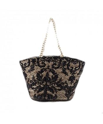 Hand bag, Zita, straw