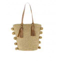 hand bag, Viennetta, cotton is worked in the round