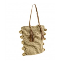 sac à main, Viennetta, le coton est travaillé dans la ronde