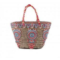 Hand-bag, Bea, stroh