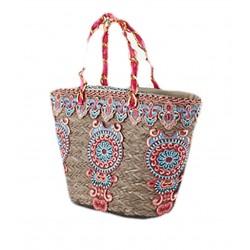 Hand bag, Bea, straw