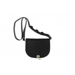Shoulder bag, Marius , black, leatherette