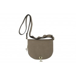 Shoulder bag, Marius , beige, leatherette