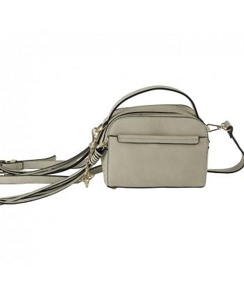 sac à main/bandoulière Energi en simili cuir beige