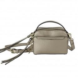 Hand bag/shoulder strap Energi faux leather gold