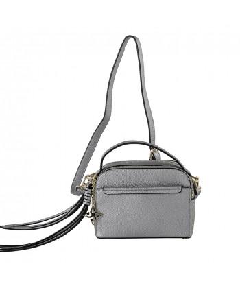 Shoulder bag Energi in faux leather grey