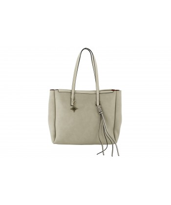 Shoulder bag Genuine leather beige