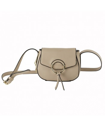 Shoulder bag Anita in eco-leather pink