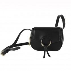 Shoulder bag Anita faux leather black