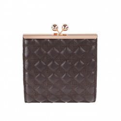 Borsa clutch Baby nera, in ecopelle