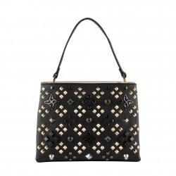 Bag clutch, Concetta White Damask, Sympatex