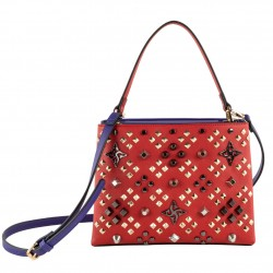 Bag clutch, Concetta Purple Plaid, Sympatex