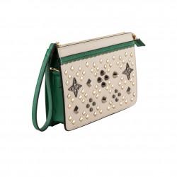 Handtasche, Paris, Schwarz, sympatex