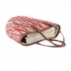 Hand bag, Primula Azzurra, straw