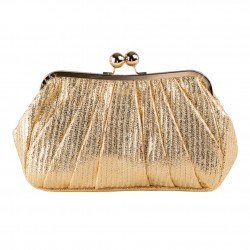 Borsa clutch Patty, argento