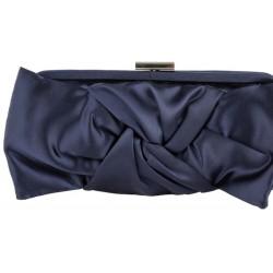 Bag clutch, Selene, Cappuccino, in satin