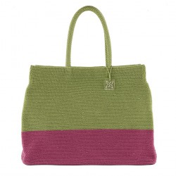 Hand bag, Desire green, cotton