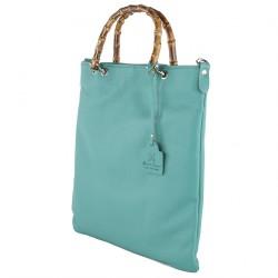 Handtasche, Zarina d ' azur, echtes leder