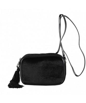 Bolsa de ombreiro, Adria veludo negro