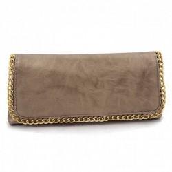 Bolsa de embreagem, Clotilde Ouro, eco de coiro
