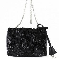 Bolsa de ombreiro, Dolores negro, tecido