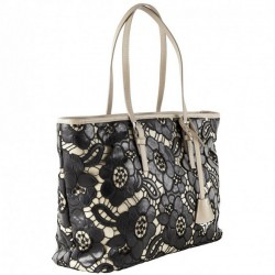 Shoulder bag, Dorothy black, fabric