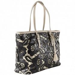 Shoulder bag, Dorothy black, fabric