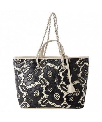 Shoulder bag, Beloved black, fabric