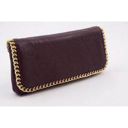 Borsa clutch, Clotilde Vino, in eco pelle