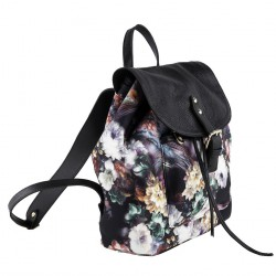 Tasche, rucksack, Eloisa blumen, neopren