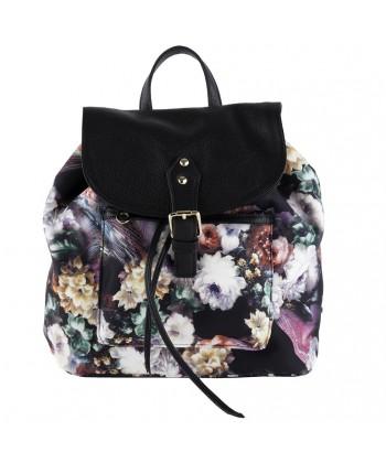 Bag backpack, Eloisa floral, neoprene